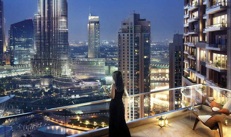 Act One Act Two in Downtown Dubai apartments by Emaar - View
