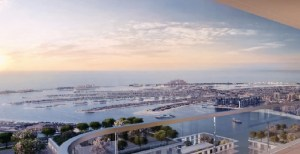 Marina Vista at Emaar Beachfront - balcony