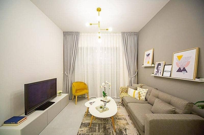 Lucky Residences JVC - Living Room