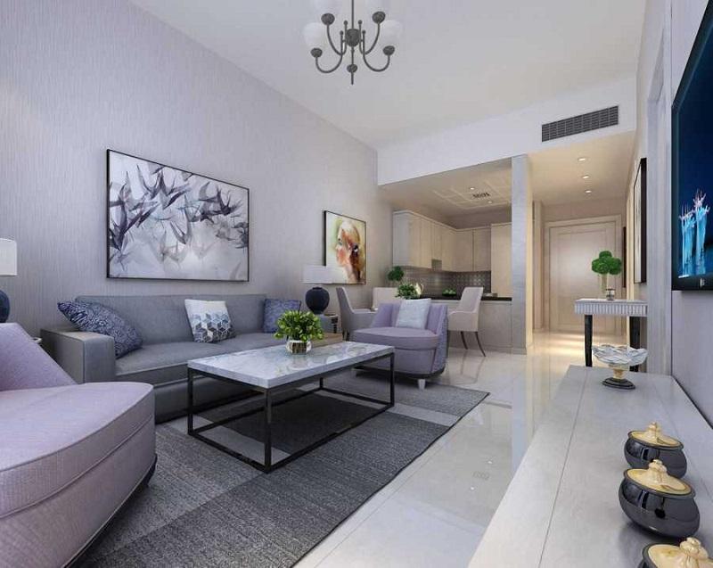 Lucky Residences JVC Living Room