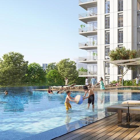 Green Space swimming pool
