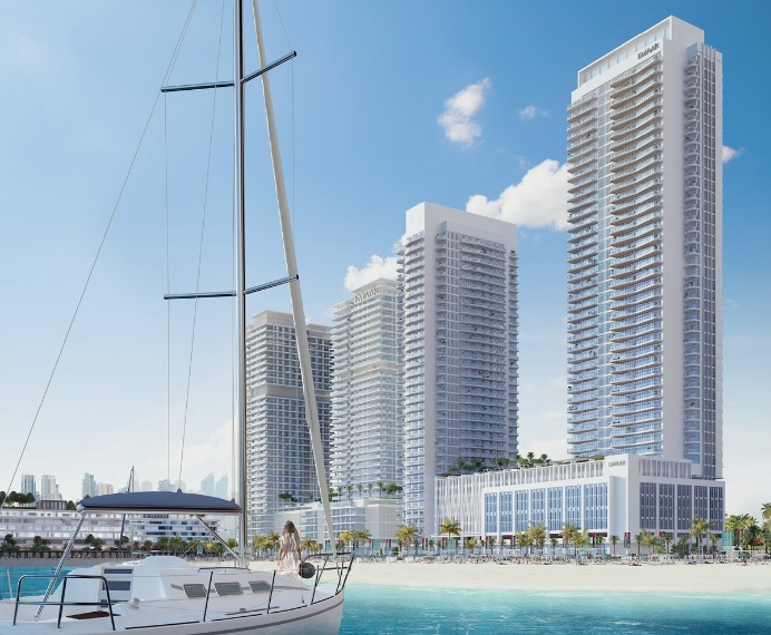 South Beach Waterfront Homes at Emaar Beachfront