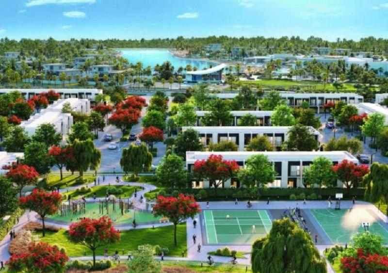 Tilal Al Ghaf - Lagoon Al Ghaf townhouses and villas Dubai