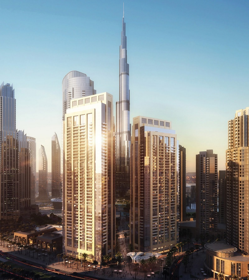 Act 1 Act 2 Residential Towers in Downtown Dubai
