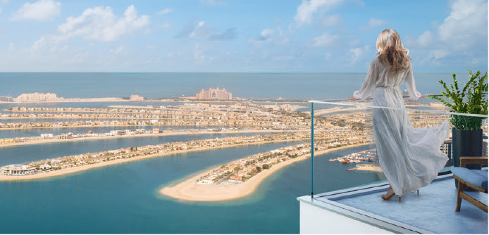 Beach Isle apartments by Emaar at Emaar Beachfront - view