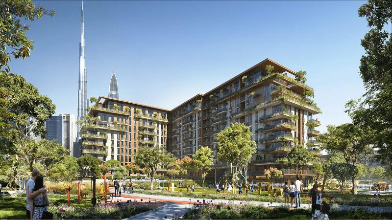Central Park Apartments by Meraas at City Walk