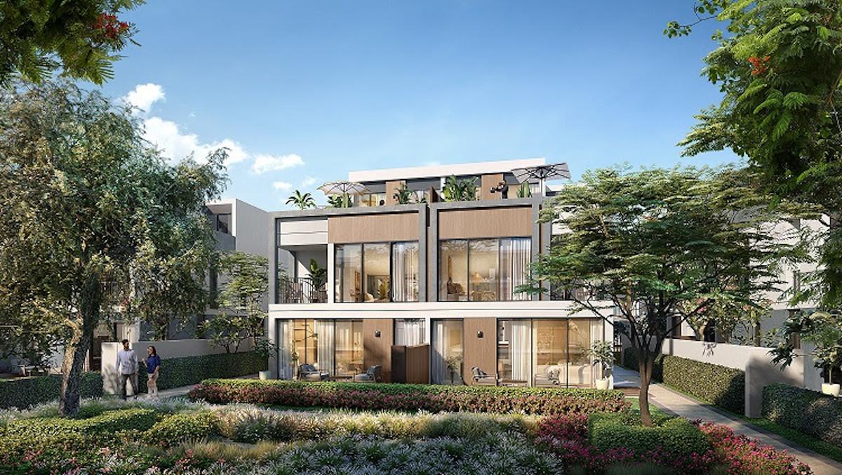 Aura at Tilal Al Ghaf villas - MAF - Dubai Properties - تلال الغاف ماجد الفطيم عقارات دبي