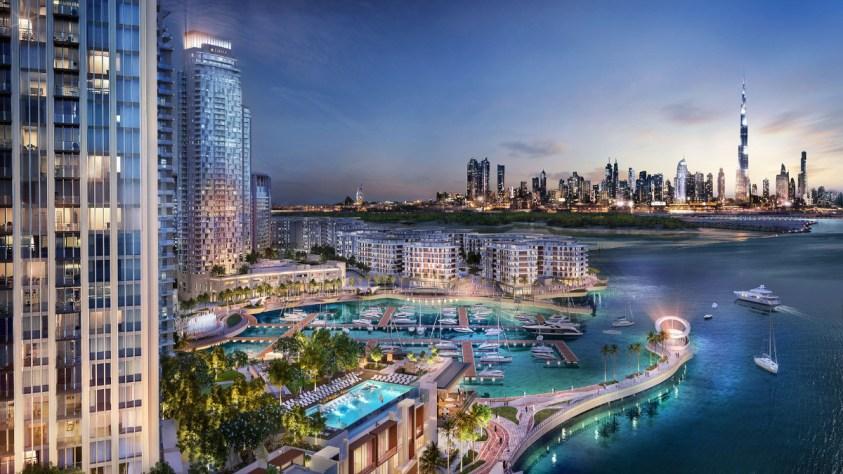 Dubai Creek Harbour Views Apartments by Emaar