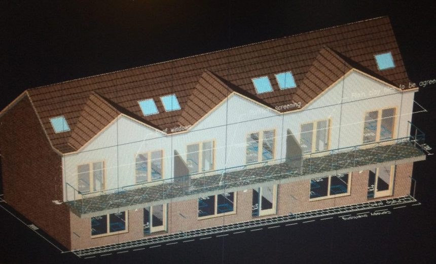 Proposed 3D plans