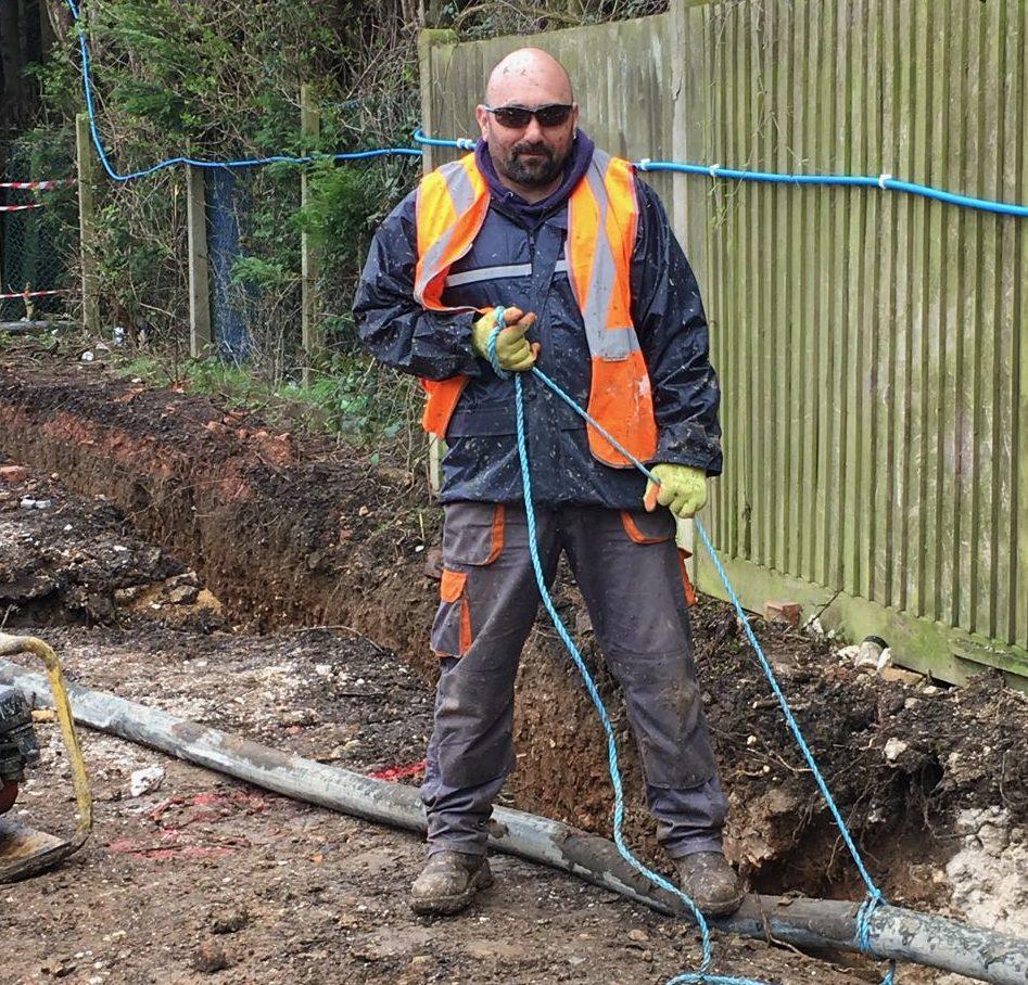 Taming the concrete hose