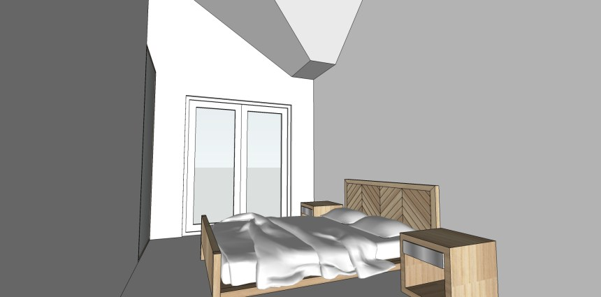 Upstairs 3D render