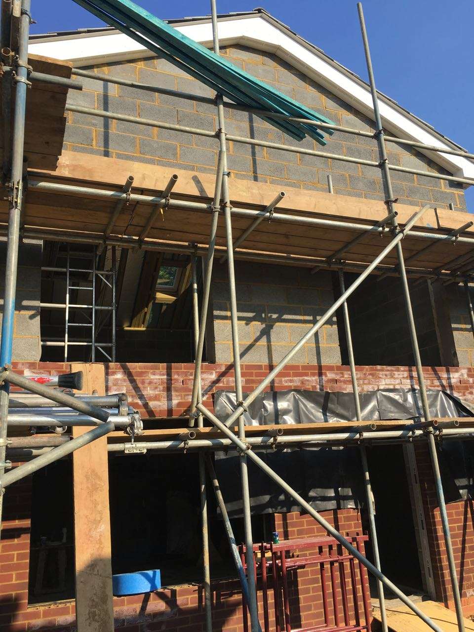 Front gable end
