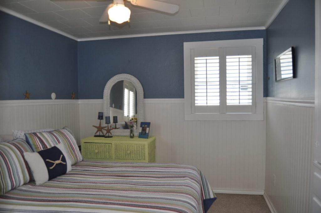 Staging a 650 square foot cottage
