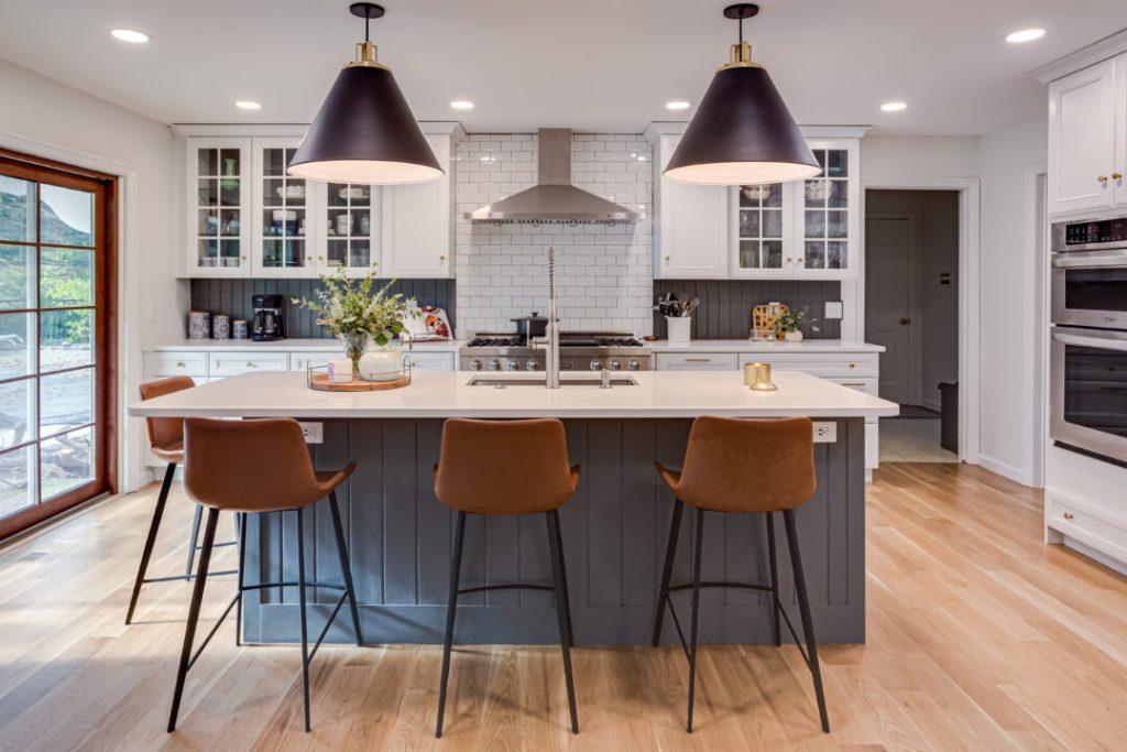 Designing an open-concept kitchen with traditional design elements | Building Bluebird #alabaster #zline #kitchenrenovation #cottagecore #rejuvenation