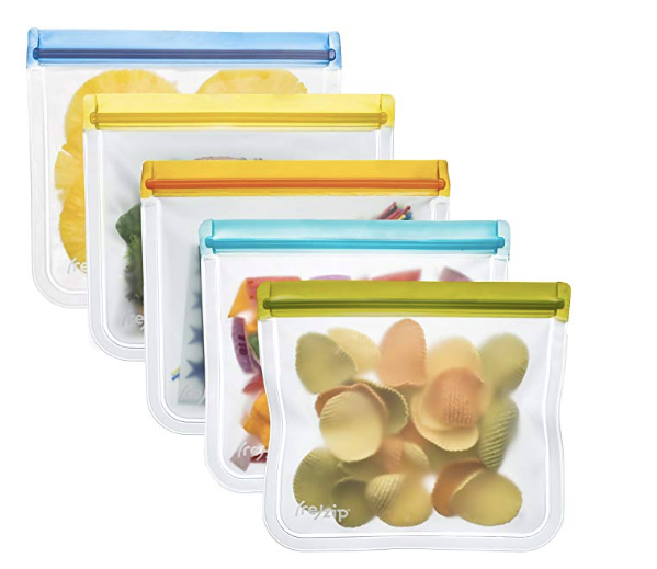 Reusable sandwich bags for lunches