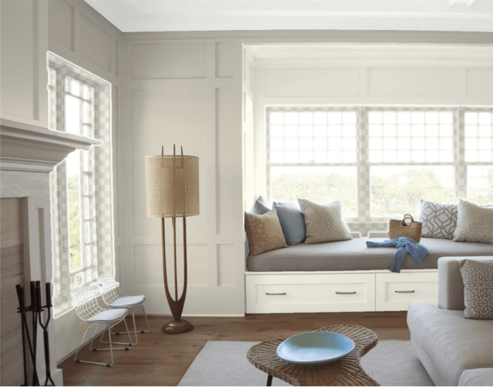 7 neutral paint colors that look great in every home #greige #paintcolor #neutralpaint #sherwinwilliams #benjaminmoore