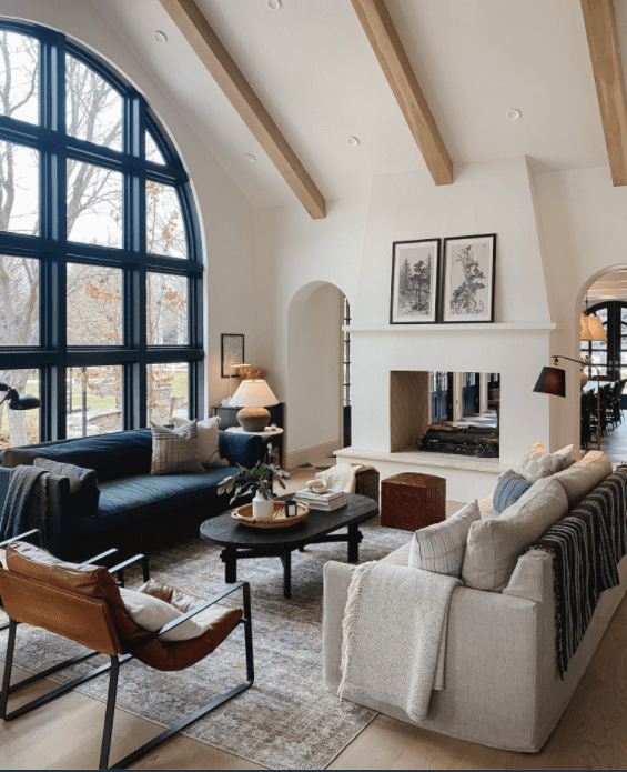 Designing for joy with vaulted ceilings   Building Bluebird