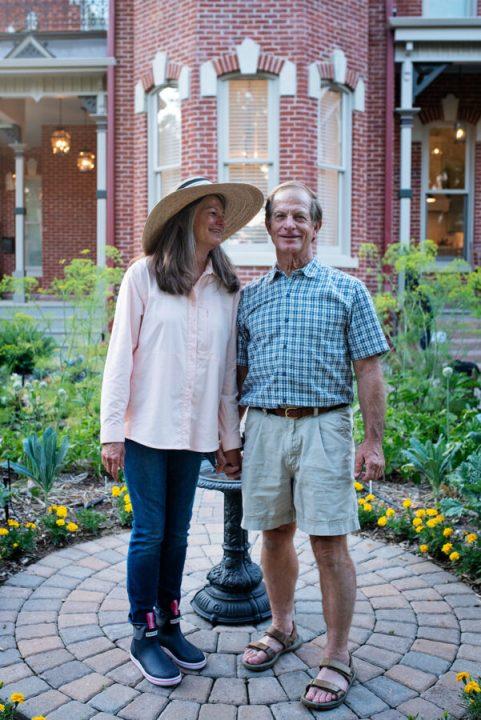 Steve and Jan Davis: Owners of the Bosler House in Denver
