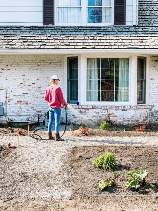 Building my English garden