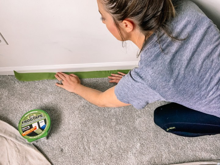 How to prep your room when painting #frogtape