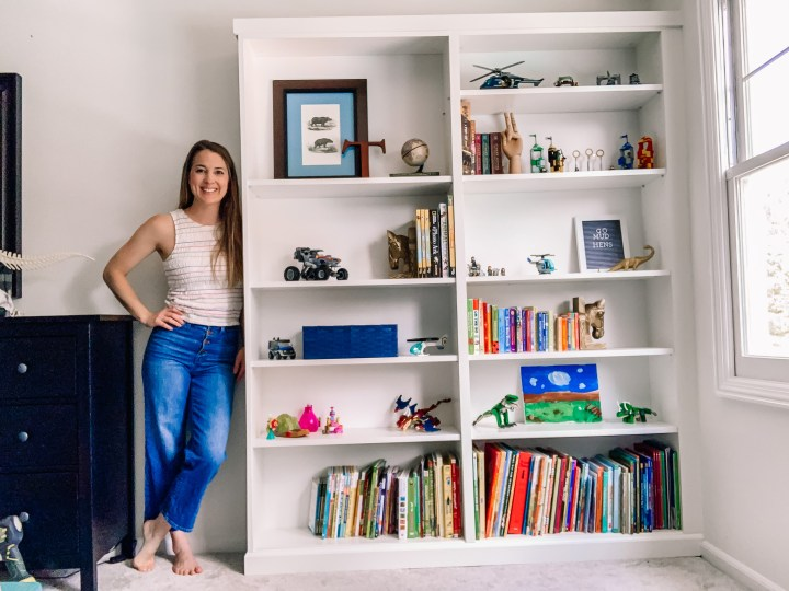 IKEA Billy bookcase built-in DIY | Building Bluebird #ikeahack