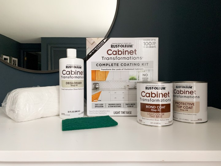 Rustoleum cabinet transformations used to paint the Hemnes dresser | Building Bluebird #ikeahack #diy