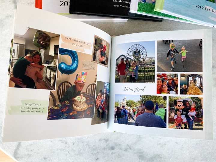Tips for creating the perfect layout for your yearbook | Building Bluebird #shutterfly #familyphotos