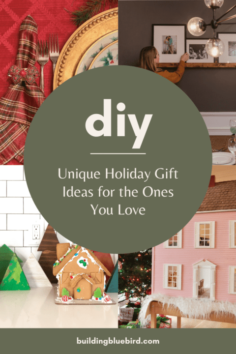 Unique holiday gift ideas for the one you love | Building Bluebird