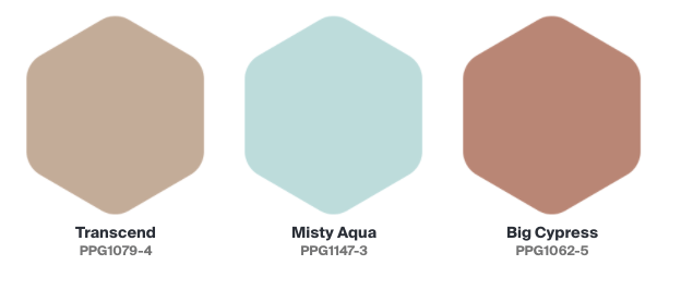 2021 Paint Color Trends - Big Cypress by PPG | Building Bluebird #designtrends #paintcolors #homerenovation #diy #coty #2021coty #coloroftheyear