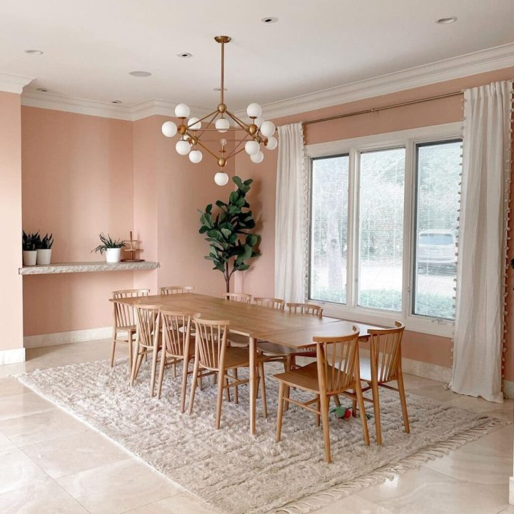 The best neutral pink paint colors to try at home - Meet Cute by Clare Paint   Building Bluebird #dustypink #muddypink
