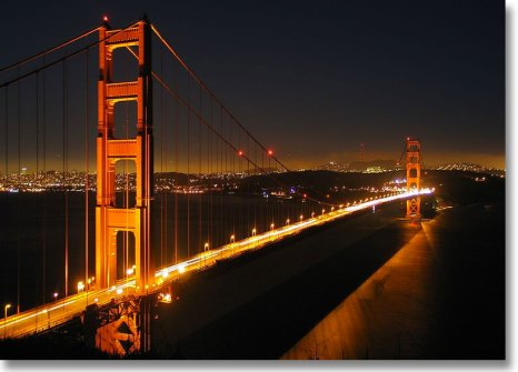 Golden Gate Bridge - San Francisco. Building in California home page