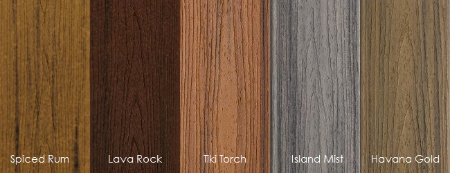 In-Stock PVC Coated Composite Decking – Building Materials