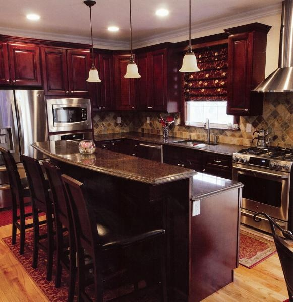 Pacifica Maple TSG Kitchen Cabinets RTA All Wood No