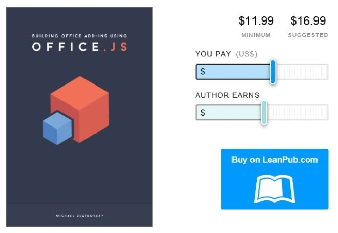 The Book – Building Office Add-ins Using Office js