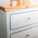 How To Diy Finish An Ana White Reclaimed Wood Look Bedside Table Tutorial Building Our Rez