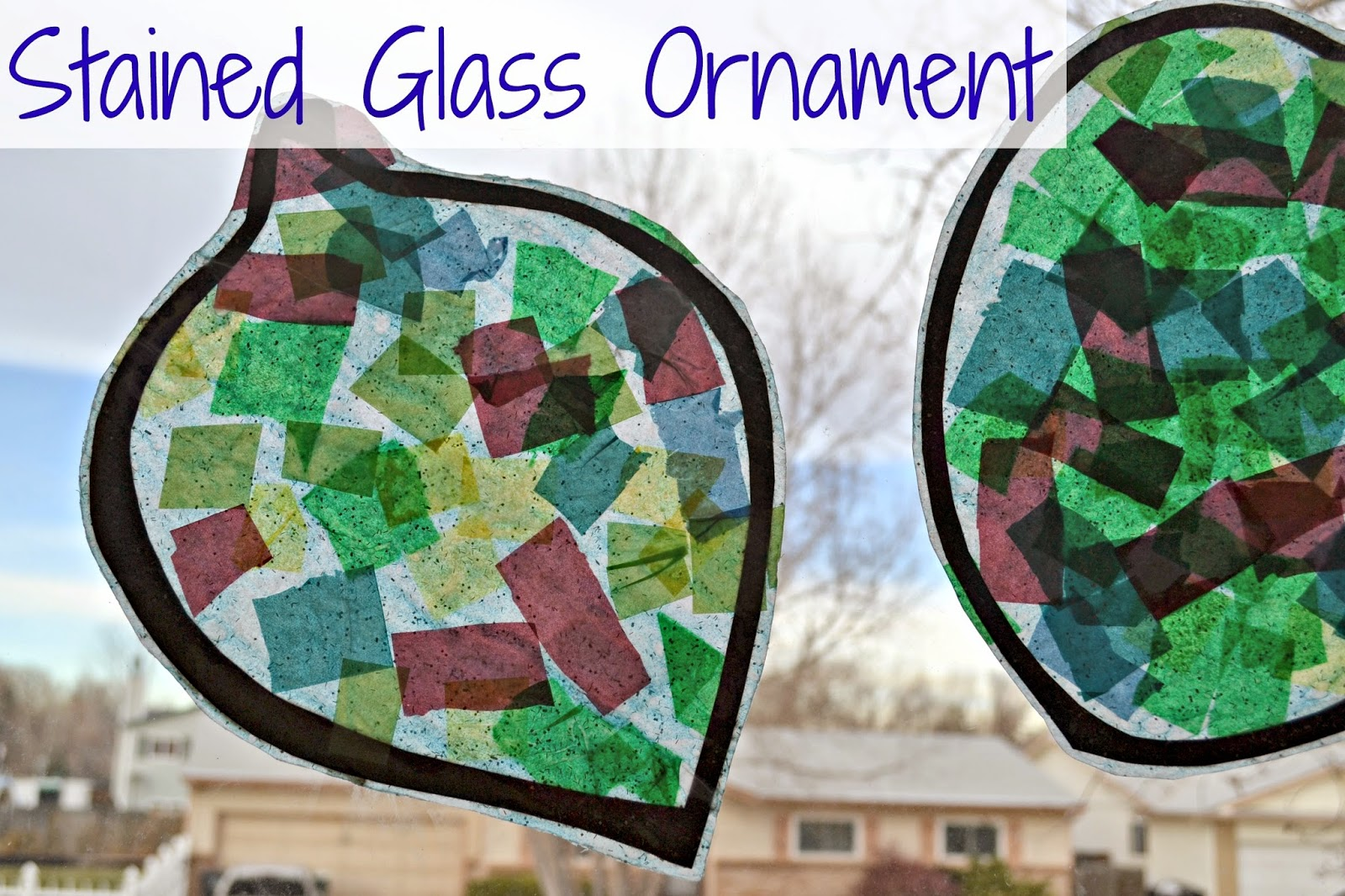 Stained Glass Ornament