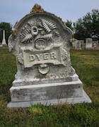 Cemetery 25 Dyer James