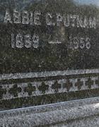 Cemetery 25 Putnam Abbie PHC&M 90