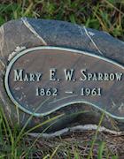 Cemetery 25 Sparrow Mary