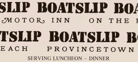2020 Commercial 161 Boatslip