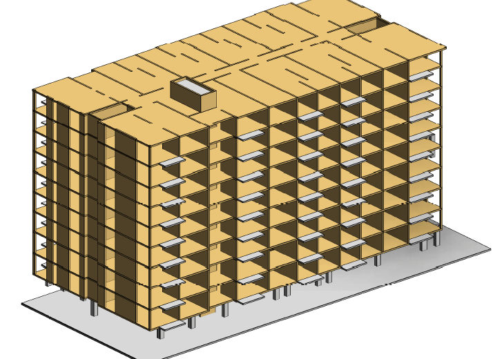 Comparing the Costs of Cross Laminated Timber and Reinforced