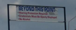 Richmond International Raceway Sound Warning