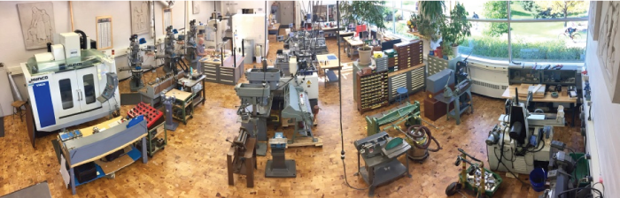 The Michigan State University Department of Physics and Astronomy Machine Shop