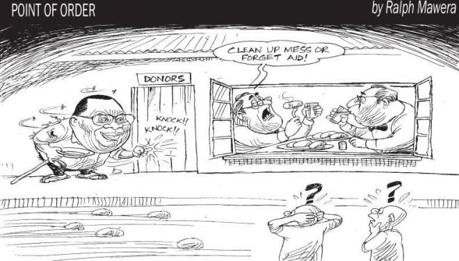 Mawera cartoon - paternalism