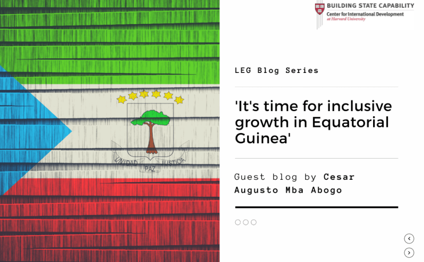 Troubled Waters Under the Bridge: Time for Inclusive Growth in Equatorial Guinea