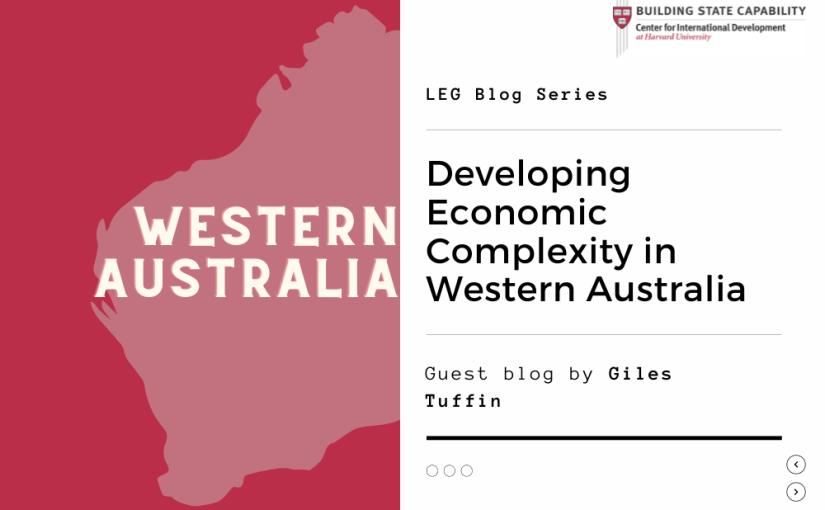 Developing Economic Complexity in Western Australia's remote, sparsely populated regional centres