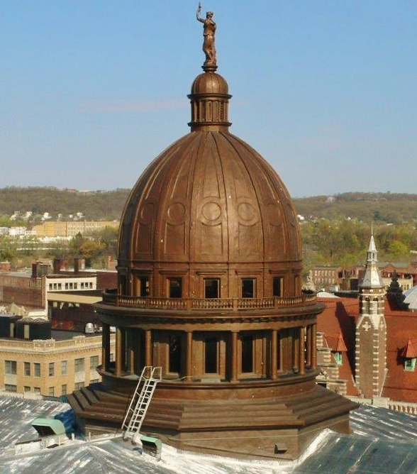 The passaic county courthouse in New Jersey- one of Building Survey's former projects, was another dome we drew .  This structure requires the highest level of accuracy for all existing conditions and as-built surveys and other drawings.