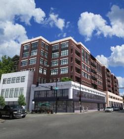 Rendering of 3833 North Broadway from Jonathan Splitt Architects.