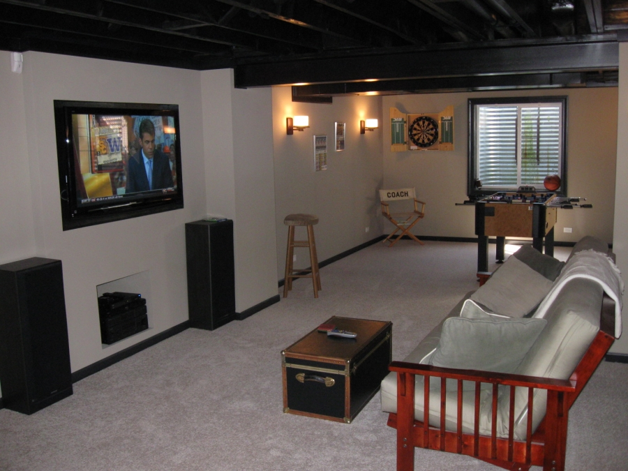Build Your Own Man Cave For $8 Per Square Foot