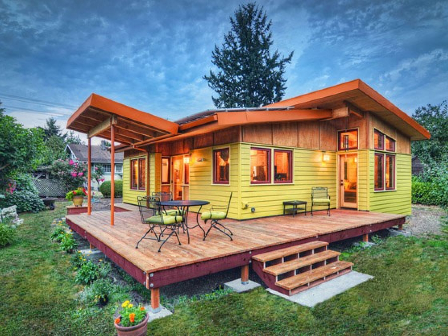 how to construct small home